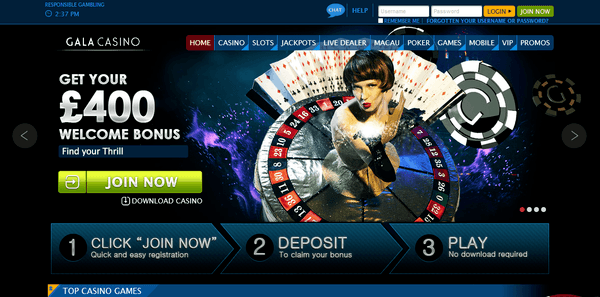 online casino sites casino games