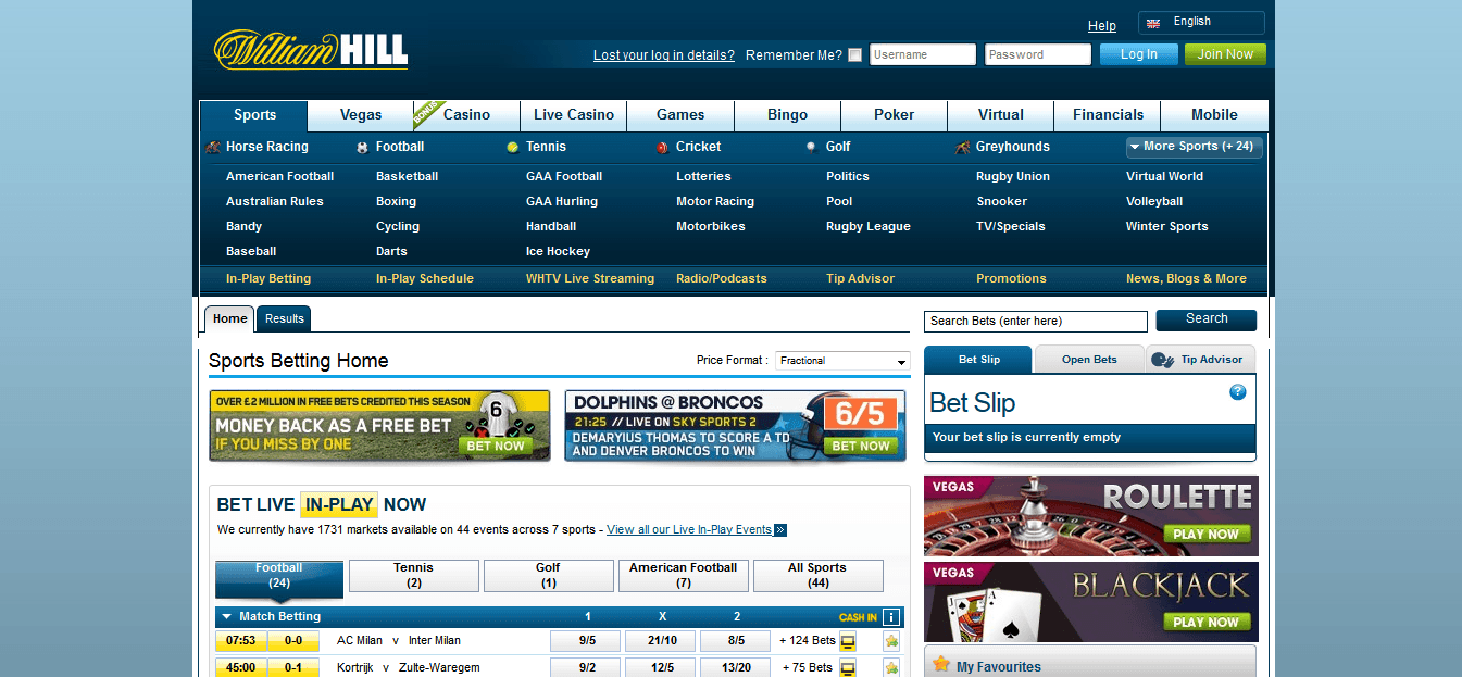 william hill-webite